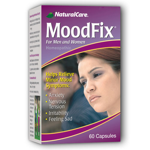 MoodFix (Relieves Mood Symptoms) 60 caps from NaturalCare