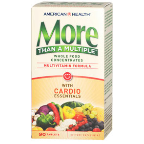 More Than A Multiple with Cardio Essentials, 90 Tablets, American Health