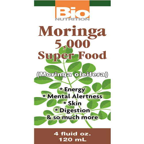 Moringa Super Food Liquid, 4 oz, Bio Nutrition Inc.