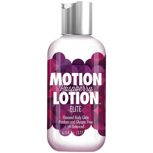 Motion Lotion Elite - Raspberry, 6 oz, Doc Johnson