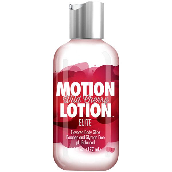 Motion Lotion Elite - Wild Cherry, 6 oz, Doc Johnson