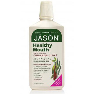 Buy Mouthwash Healthy Mouth – Tea Tree, 16 oz, Jason Natural