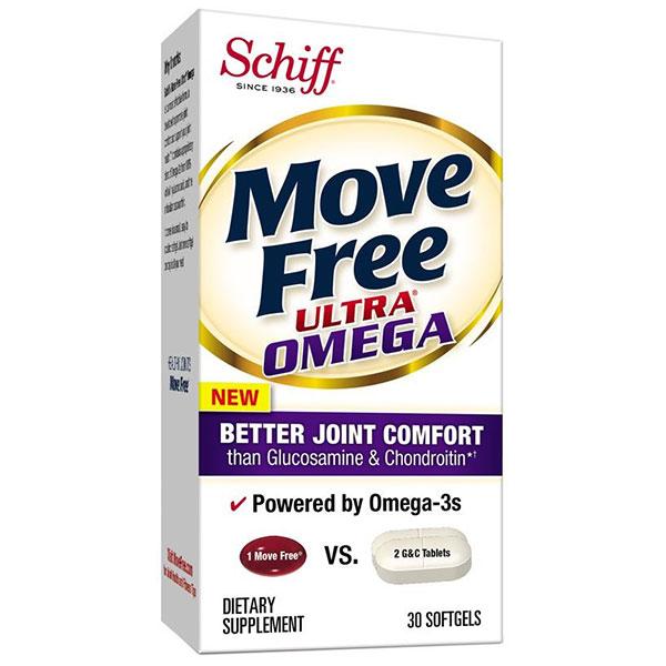 Move Free Ultra Omega, 30 Softgels, Schiff