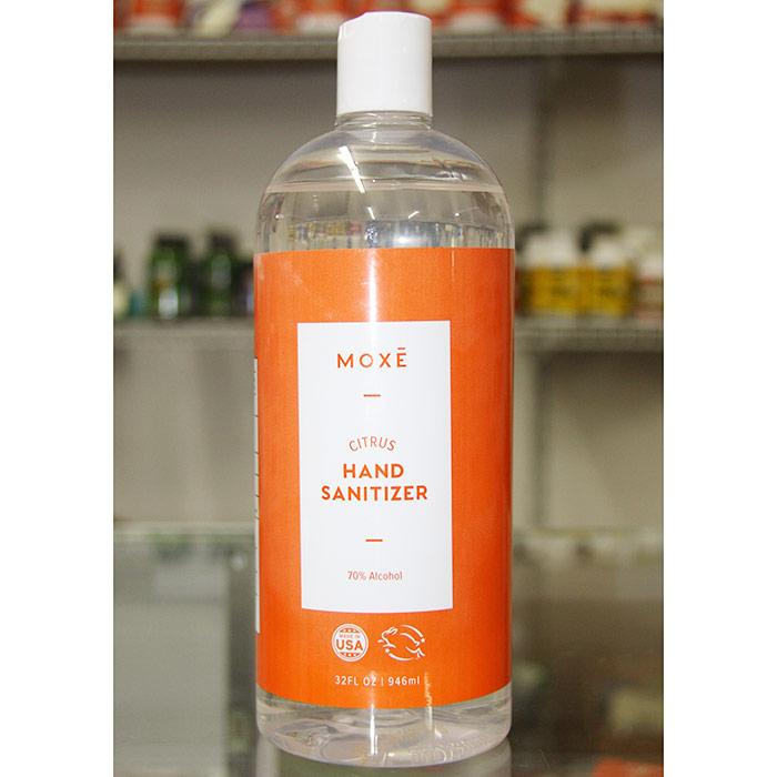 Moxe Citrus Hand Sanitizer, 70% Alcohol, 32 oz (946 ml)
