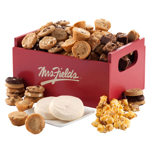 Mrs. Fields Cookies Deluxe Gift Crate