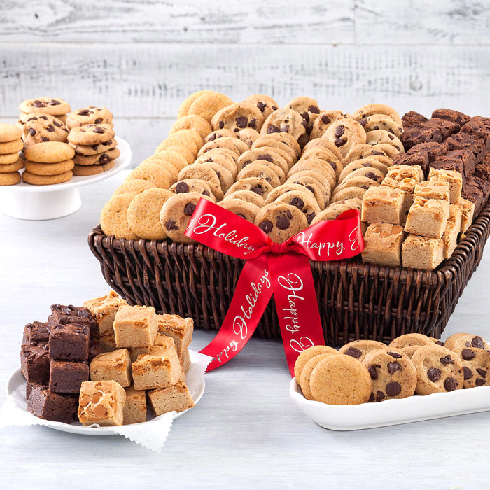 Mrs. Fields Holiday Cookie Deluxe Bites Gift Basket