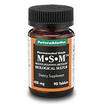 MSM ( Biological Sulfur ) 90 tabs, Futurebiotics