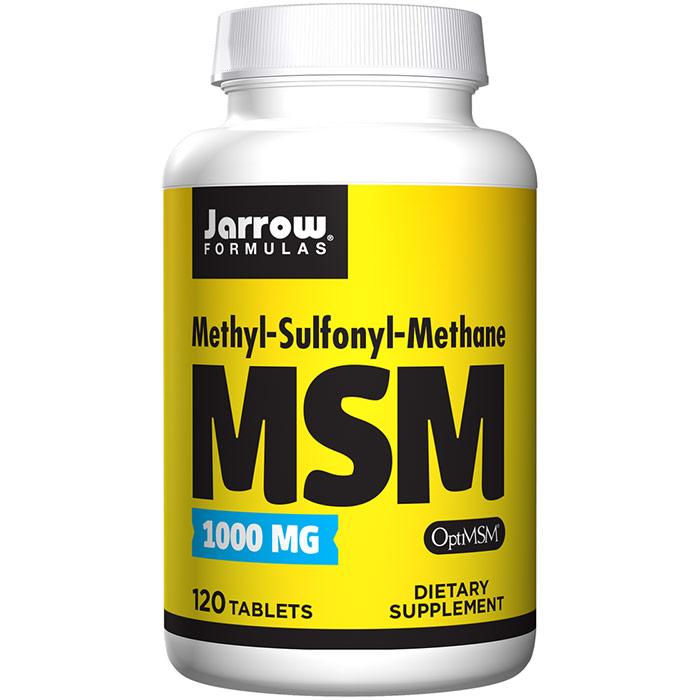 MSM 1000 ( Methyl-Sulfonyl-Methane ) 120 tabs, Jarrow Formulas