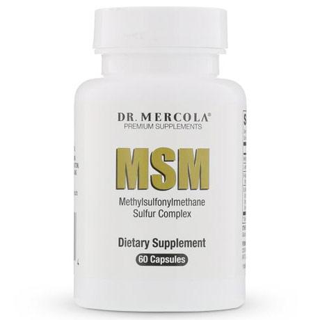 MSM Sulfur Complex, 60 Capsules, Dr. Mercola