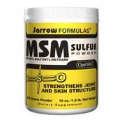 MSM Sulfur Powder 454 grams, 1 lb, Jarrow Formulas