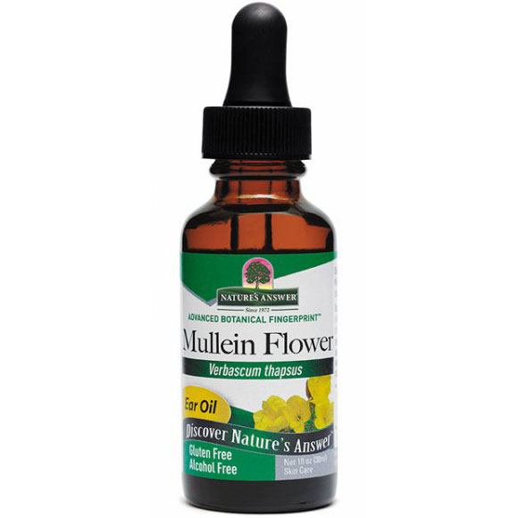 Mullein Flower Ear Oil Extract 1 oz from Nature's Answer