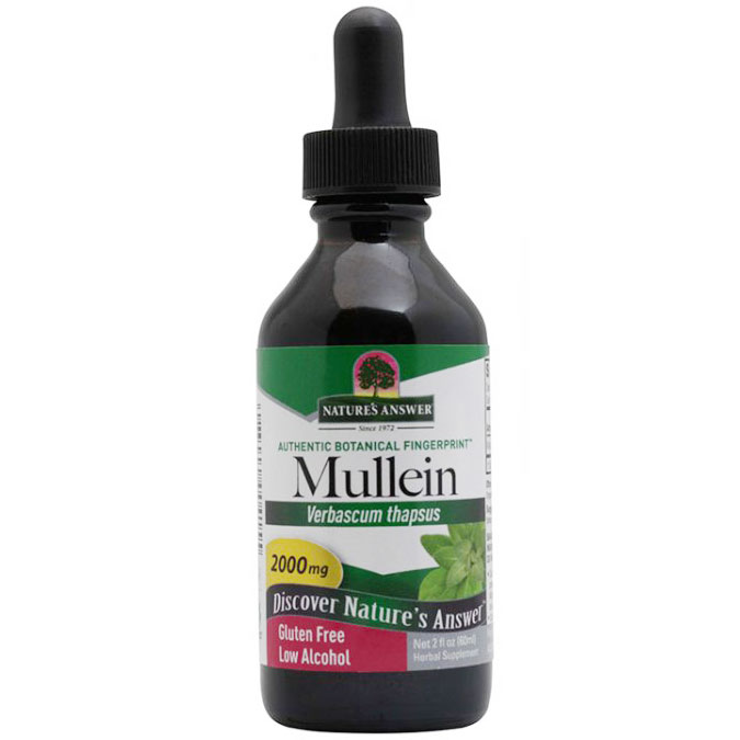 Mullein Leaf Extract Liquid 2 oz from Natures Answer