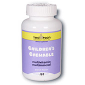 Multi Vitamin/Mineral Childrens Chewable 120 tabs, Thompson Nutritional Products