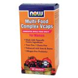 Multi-Food Complex Women Caps, 90 Vcaps, NOW Foods