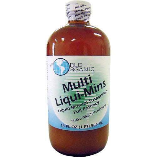 Multi Liqui-Mins Liquid Minerals 16 oz from World Organic