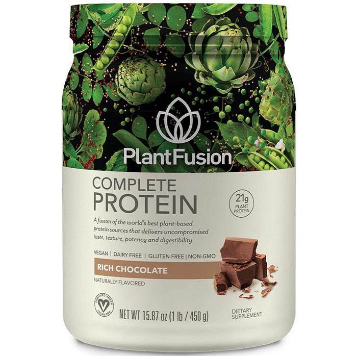 Plant Fusion Multi Source Plant Protein, Chocolate, 1 lb, PlantFusion