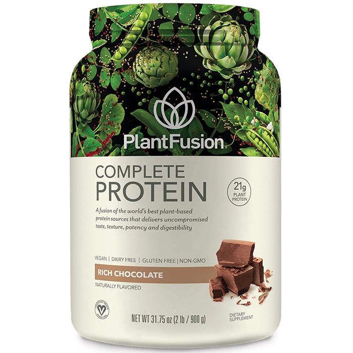 Multi Source Plant Protein, Chocolate, 2 lb, PlantFusion
