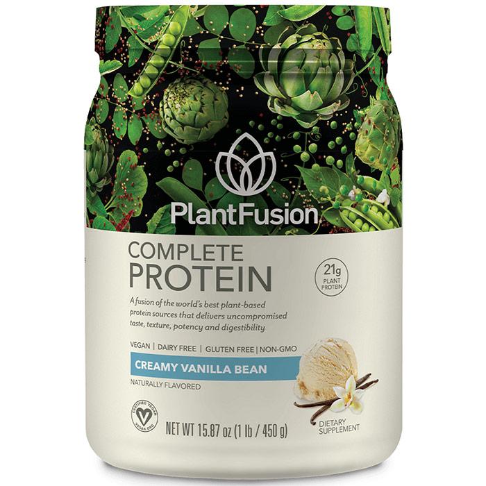 Plant Fusion Multi Source Plant Protein, Vanilla Bean, 1 lb, PlantFusion