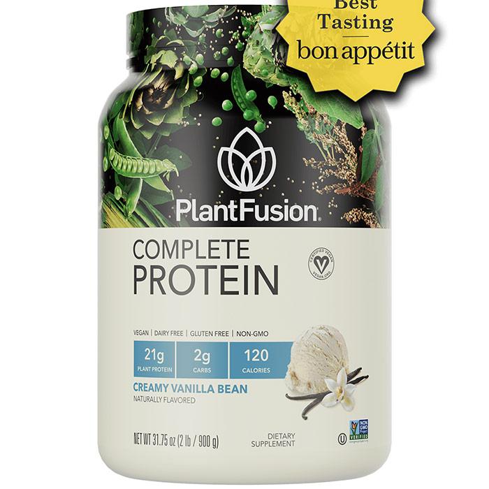 Multi Source Plant Protein, Vanilla Bean, 2 lb, PlantFusion