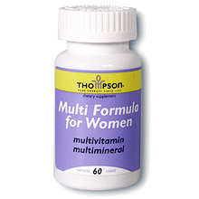 Multi Vitamin/Mineral for Women 60 caps, Thompson Nutritional Products