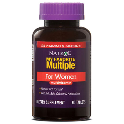 My Favorite Multiple Vitamins for Women, Multivitamin 90 tabs from Natrol