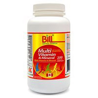 Multivitamins & Minerals, 360 Tablets, Bill Natural Sources