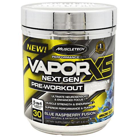 MuscleTech VaporX5 Next Gen, Pre-Workout, 30 Servings