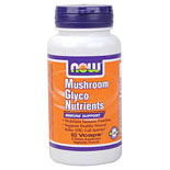 Mushroom Glyco Nutrients, GlycoNutrients with RBAC, 60 Vcaps, NOW Foods