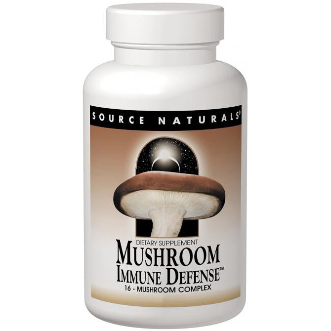 Mushroom Immune Defense 16-Mushroom Complex 120 tabs from Source Naturals