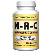 N-A-C ( N-Acetyl-L-Cysteine ) 500mg 100 caps, Jarrow Formulas