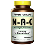 NAC ( N-Acetyl-L-Cysteine ) 500mg 200 caps, Jarrow Formulas