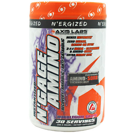 NErgized NGage Amino, Drink Mix, 30 Servings, Axis Labs