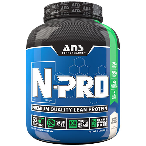 N-Pro, Premium Quality Lean Protein, 4 lb, ANS Performance