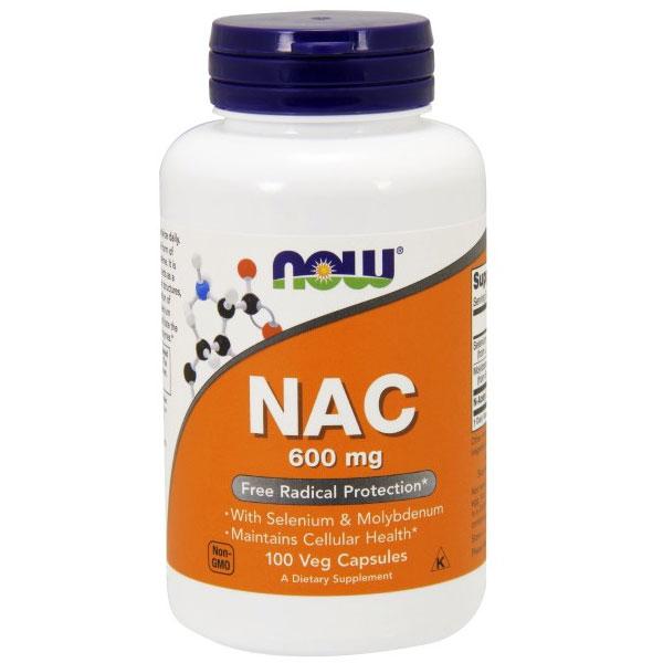 NAC 600mg N-Acetyl Cysteine, Selenium, Molybdenum