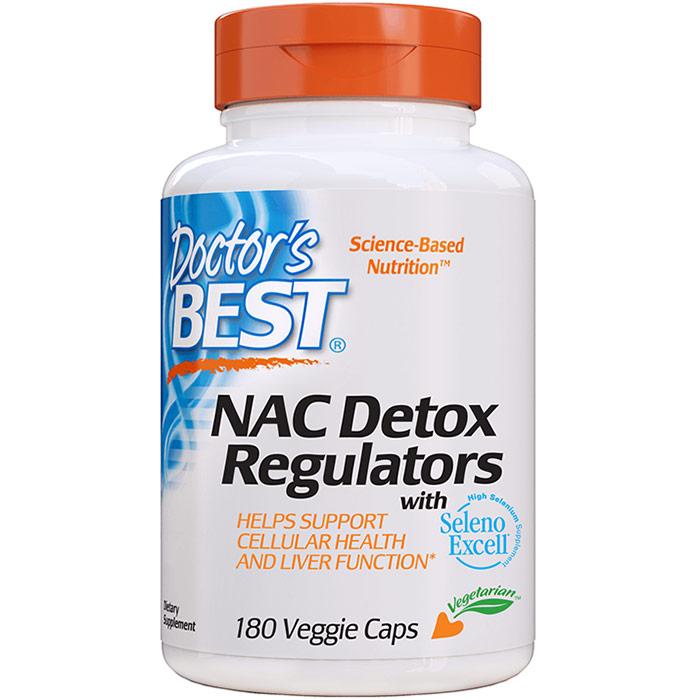 NAC Detox Regulators, 180 Veggie Caps, Doctors Best