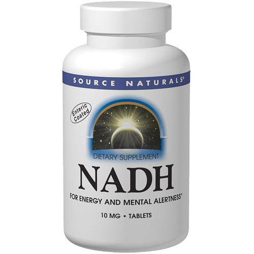 NADH 5 mg Blister Pack, 90 Tablets, Source Naturals