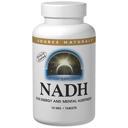 NADH 5mg, 60 Tablets, Source Naturals