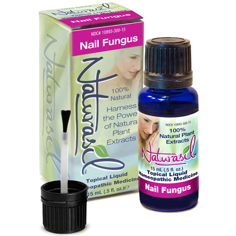 Topical Liquid Homeopathic Remedy for Nail Fungus, 15 ml, Naturasil
