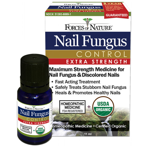 Nail Fungus Control Extra Strength, 11 ml, Forces of Nature