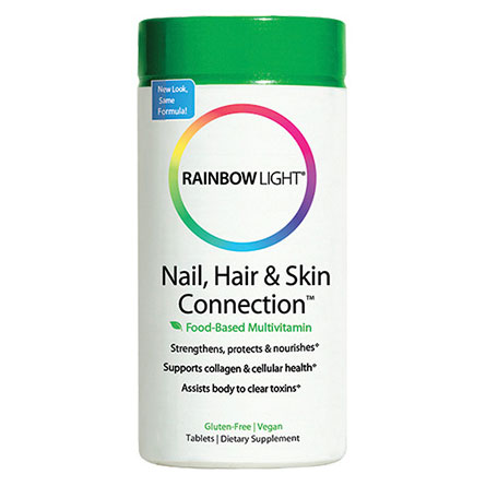 Nail; Hair and Skin Connection 60 tabs; Rainbow Light