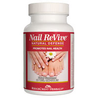 Nail Revive, For Healthy Nails, 60 Capsules, Ridgecrest Herbals
