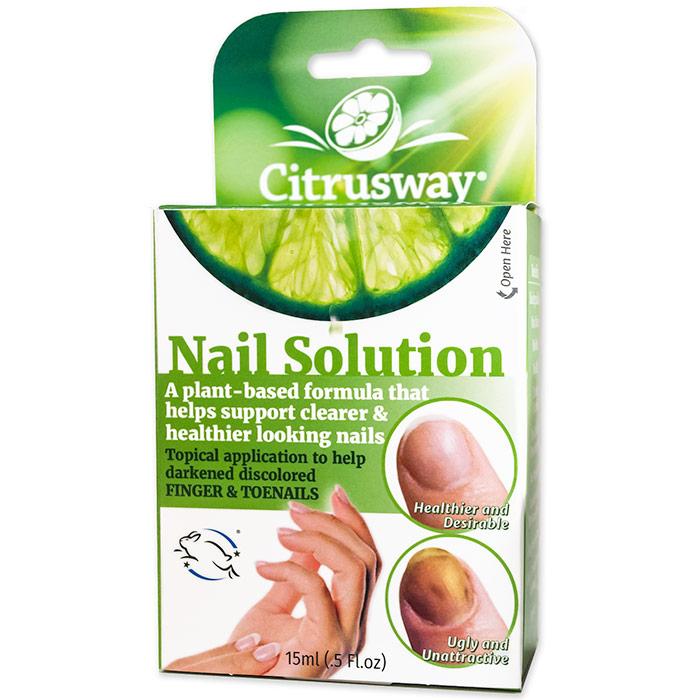 Nail Solution Antifungal, 0.5 oz, Citrusway