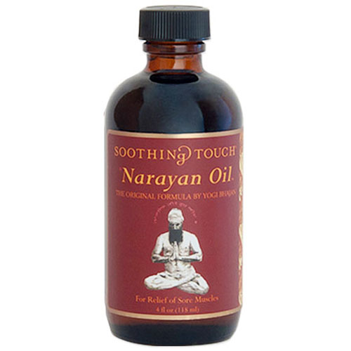 Narayan Oil, Therapy Oil for Soothing Muscles, 4 oz, Soothing Touch