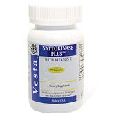Nattokinase Plus 100mg 90 capsules from Vesta