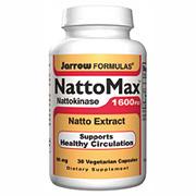 NattoMax ( Natto Max ) Nattokinase, 30 veggie caps, Jarrow Formulas