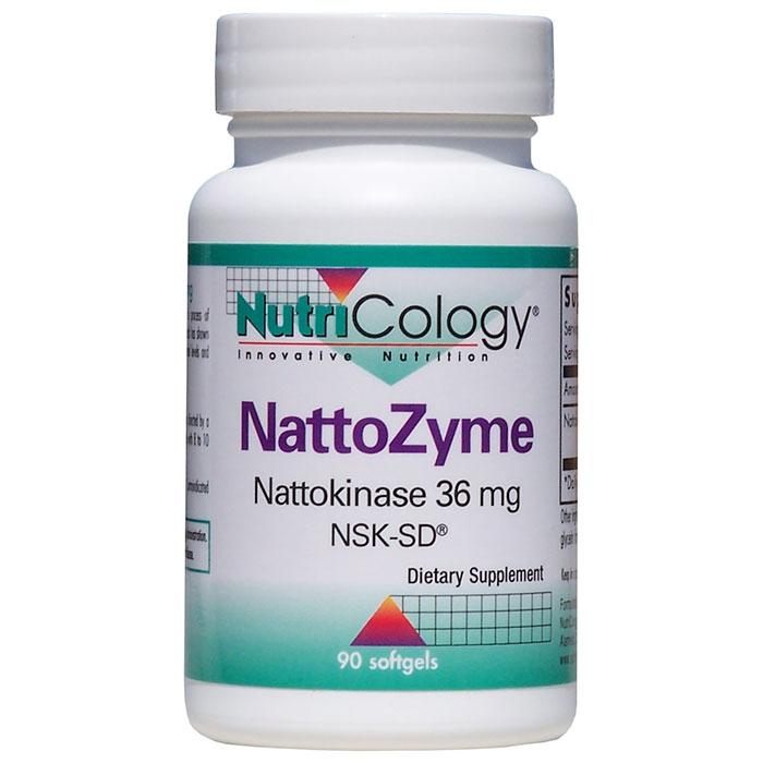 NattoZyme Nattokinase 36mg 90 caps from NutriCology