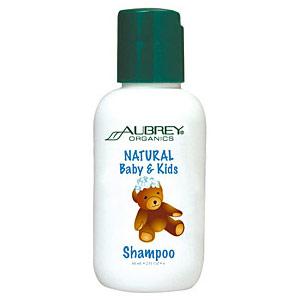 Natural Baby & Kids Shampoo, 2 oz, Aubrey Organics