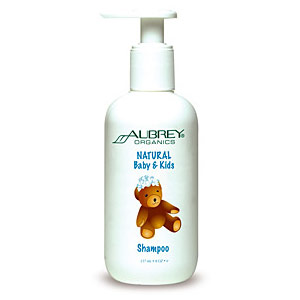 Natural Baby & Kids Shampoo, 8 oz, Aubrey Organics