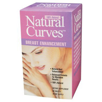 Natural Curves, Breast Enhancement 60 tabs from Biotech Corporation