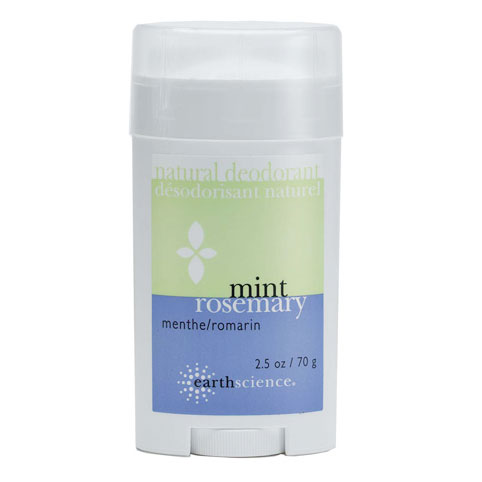 Natural Deodorant Rosemary Mint, 2.5 oz, Earth Science